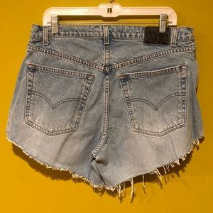 Vintage Levi's Baggy Silver tab Shorts